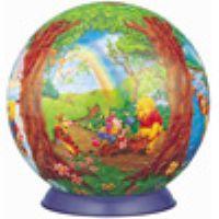 3D球体540ピースジグソーパズル プーさんの四季 《廃番商品》