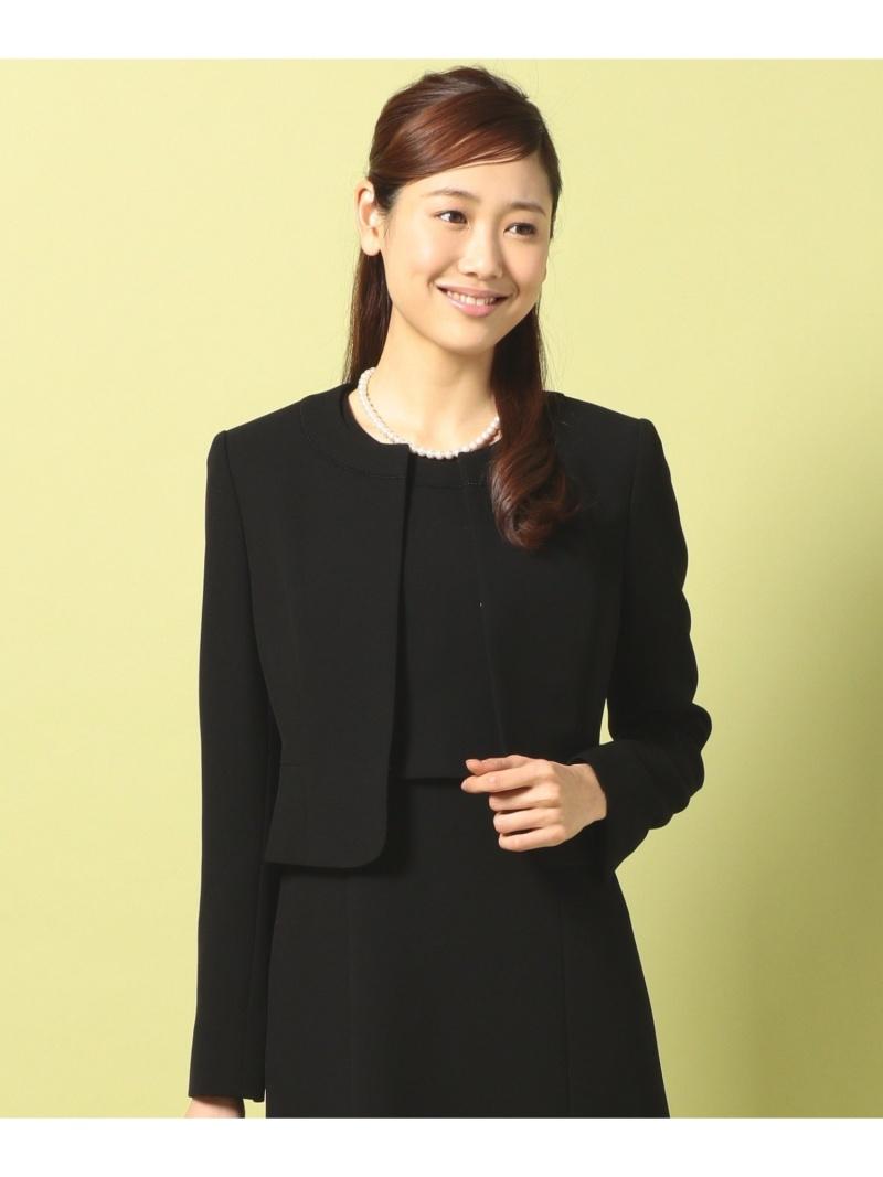 組曲 レディース ビジネス フォーマル クミキョク 数量限定 NOIR Rakuten セットアップスーツ 全国どこでも送料無料 ブラック Fashion バーズアイ 送料無料 ジャケット+ワンピース