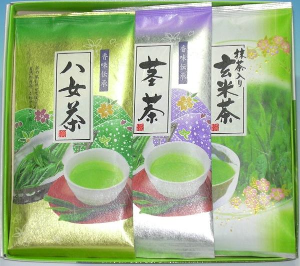 全国送料無料 クリックポスト メール便 選定必要 敬老の日 開催中 銘茶詰合 JapaneseTea Gift 爆売り H-15 お茶