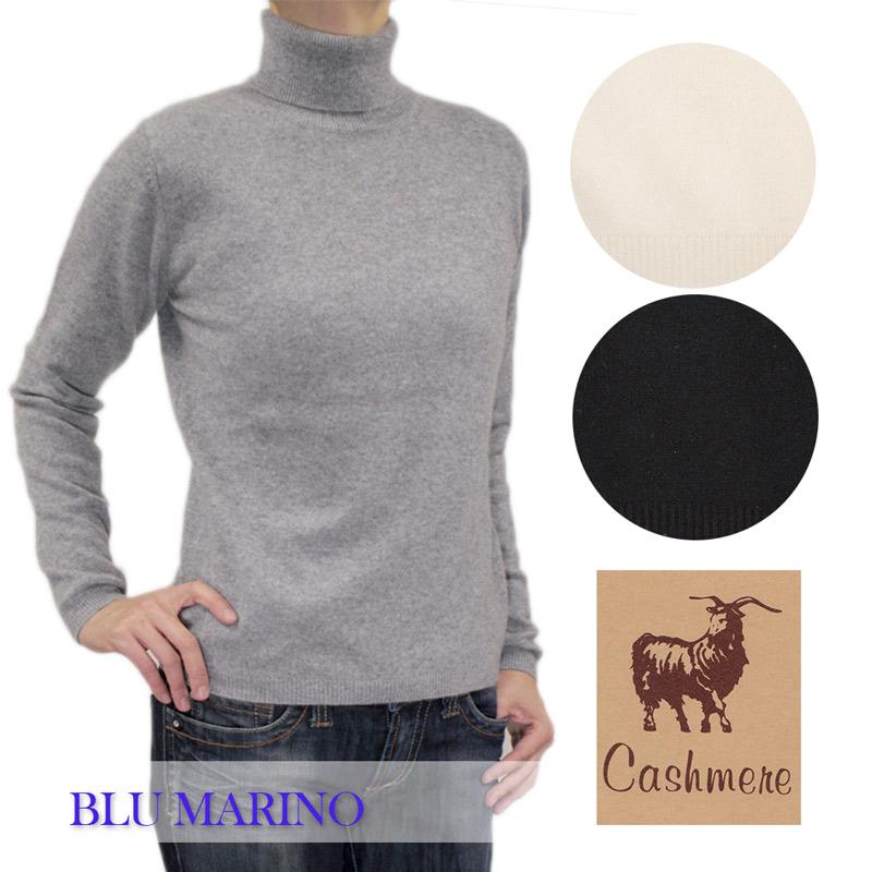 送料無料 やわらかく上質なカシミヤで暖かく 着心地が抜群 そして何といってもやわらかい肌触りが一番の魅力☆この肌触りは手放せなくなりそう 安い レディース BLU MARINO ブルマリーノ カシミヤ カシミア セーター ニット グレー 黒 kb ブラック タートルネック L blumarino_w6691203 ホワイト 激安 smtb-k 白 長そで SIZE:M