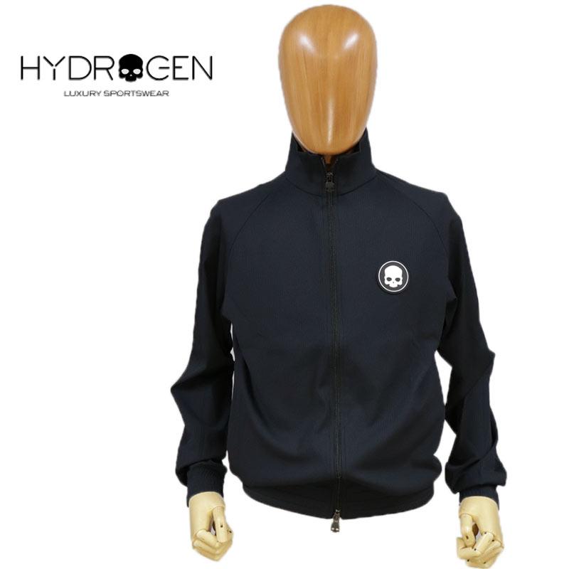 【送料無料】【2020春夏新作】HYDROGEN ハイドロゲン ブルゾン スウェット ジップアップ 長そで スカル メンズ スタッズ 国内正規店(正規品)ブラック 黒 SIZE:M (hydrogen_130125)