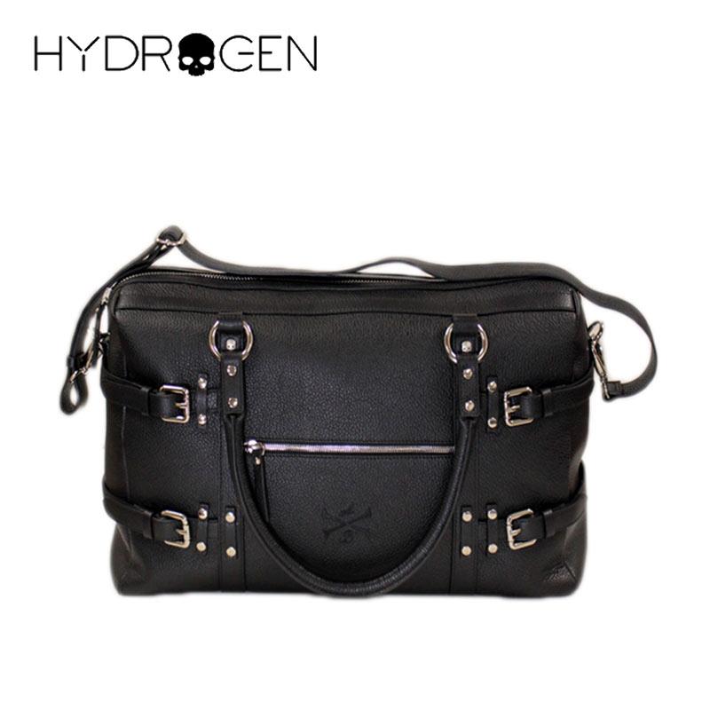【送料無料】ズ レディース ユニセックス バッグ ショルダーバッグ BAG レザー 牛革 ブラック(黒) (hydrogen_z191203) 【smtb-k】【kb】