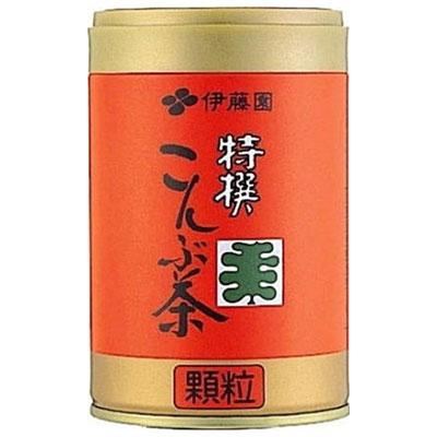 調味料としても便利な顆粒こんぶ茶 伊藤園 特撰こんぶ茶 65g e暮らしR 上質 在庫一掃