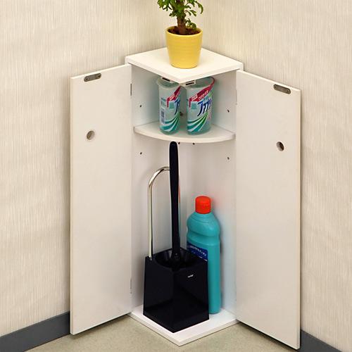 トイレ収納 訳あり サニタリー コーナー 超定番 隅 角 コンパクト 掃除道具 洗剤 消臭剤 小物 オスマック 目隠し 収納 置台 TA-16 木製 e暮らしR サニタリーコーナーラック トイレ