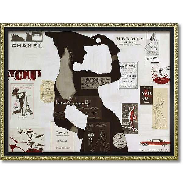 「ハイファッション2」Mサイズ アマンダグリーンウッド・オマージュアート[絵画通販])【壁掛けフック付き】【絵のある暮らし】