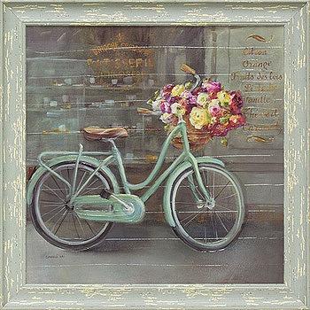 「ジョイオブパリ1」ダンフイ ナイ (花 ・風景画アートポスター)[絵画通販]【壁掛けフック付き】【絵のある暮らし】