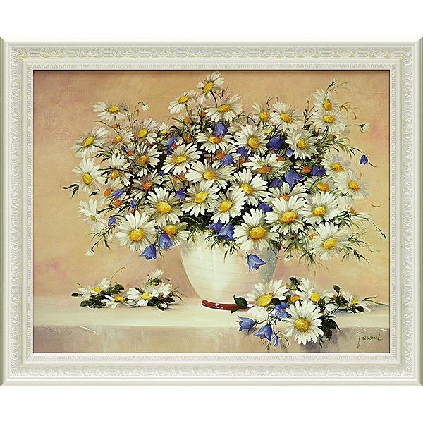 「メロディ ウィズ デイジー」ファザーニ[絵画通販]【壁掛けフック付き】【絵のある暮らし】