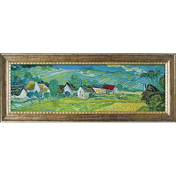 【代引不可】【お届け日時間指定不可】「オーヴェールの美しい草原」ゴッホ【通信販売】(世界の名画・ゴッホアートポスター[絵画通販])【壁掛けフック付き】【絵のある暮らし】