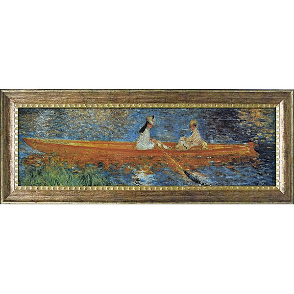「セーヌ川のボート遊び」ルノワール(世界の名画・ルノワールアートポスター[絵画通販])【壁掛けフック付き】【絵のある暮らし】