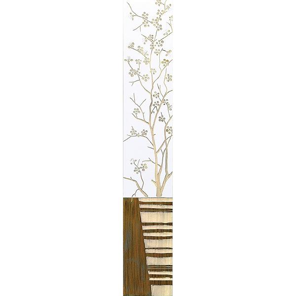 ウッドスカルプチャーアート・ジャパニーズフラワー2(wh+np)[絵画通販]【絵のある暮らし】【壁掛けフックつき】