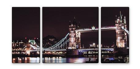 LONDON TOWER BRIDGE【urban style】[絵画通販]【絵のある暮らし】(イギリス・ロンドン)【壁掛けフックつき】