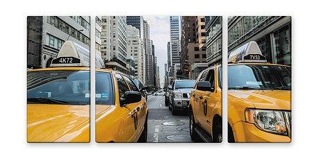 NEW YORK/YELLOW CAB【urban style】[絵画通販]【絵のある暮らし】(ニューヨーク)【壁掛けフックつき】