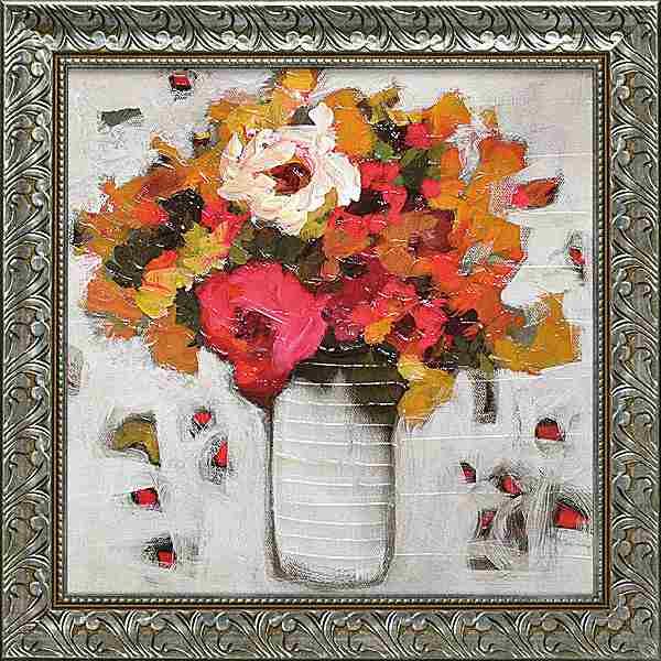 「アーリースプリング1」ジェニファーハーウッド[絵画通販]【壁掛けフック付き】【絵のある暮らし】