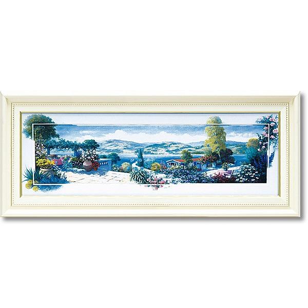 「パノラマテラス1」ピーターモッツ・風景画アートポスター作品[絵画通販]【絵のある暮らし】【壁掛けフックつき】
