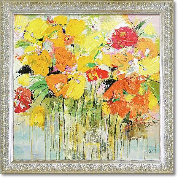 「ジュービラント」ジンジン(花・アートポスター[絵画通販])【壁掛けフック付き】【絵のある暮らし】