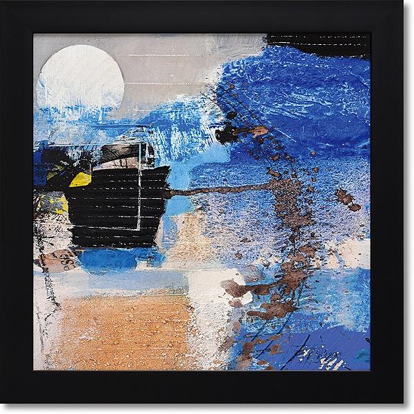 「ムーンライト」アーサーピマ・アートポスター・モダン【壁掛けフック付き】【絵のある暮らし】