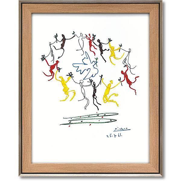 「輪舞」パブロ ピカソ 【通信販売】(世界の名画・ピカソアートポスター[絵画通販])