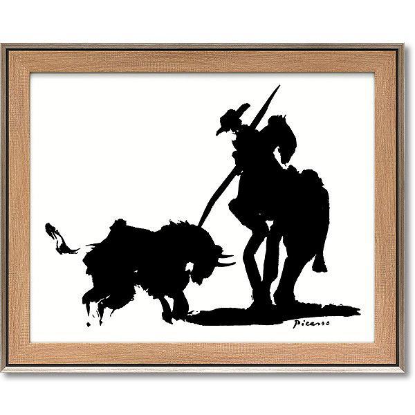 「ブルファイト」パブロ ピカソ 【通信販売】(世界の名画・ピカソアートポスター[絵画通販])