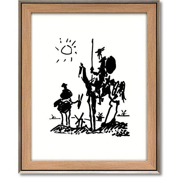 「ドンキホーテ」パブロ ピカソ 【通信販売】(世界の名画・ピカソアートポスター[絵画通販])
