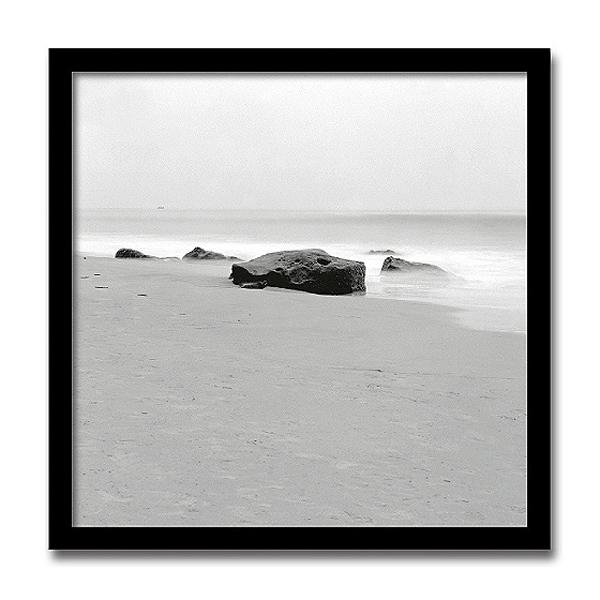 Beach Tones(フォトグラフ インテリアアートフレーム)[絵画通販]【絵のある暮らし】 【壁掛けフックつき】