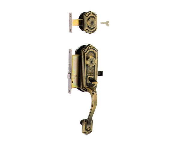 MIWA(美和ロック) 装飾錠・サムラッチ 玄関 タイプトステム(左右勝手あり) 入数1組【ハイロジック】