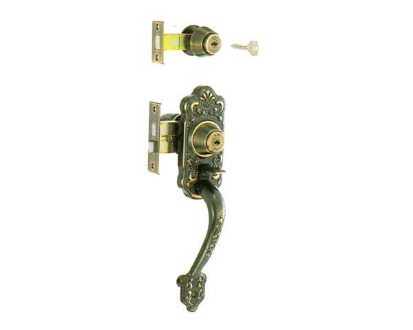 MIWA(美和ロック) 装飾錠・サムラッチ 玄関 タイプYKK 入数1組【ハイロジック】