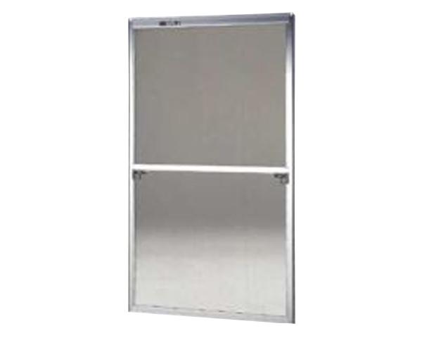 窓用サッシ網戸/フリーサイズ網戸【セイキ販売】60-120S型 シルバーサイズ:H1780~1813ミリ×W925~945ミリ用