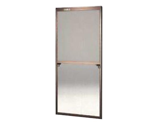 窓用サッシ網戸/フリーサイズ網戸【セイキ販売】60-94K型 ブロンズサイズ:H1780~1813ミリ×W715~735ミリ用