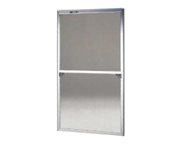 窓用サッシ網戸/フリーサイズ網戸【セイキ販売】58-120型 シルバーサイズ:H1720~1753ミリW875~895ミリ用