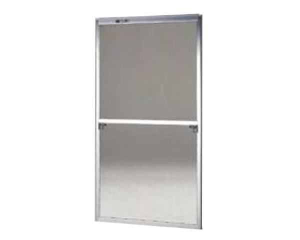 窓用サッシ網戸/フリーサイズ網戸【セイキ販売】61-120型 シルバーサイズ:H1810~1843ミリ×W875~895ミリ用