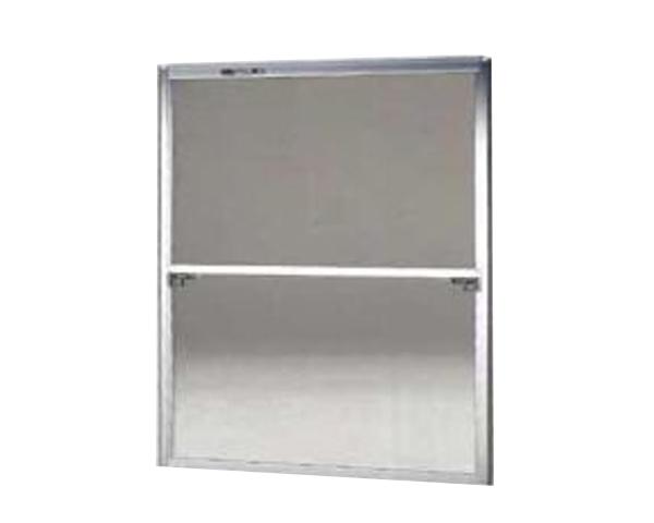 窓用サッシ網戸/フリーサイズ網戸【セイキ販売】57-92型 シルバーサイズ:H1690~1723ミリ×W1295~1315ミリ用