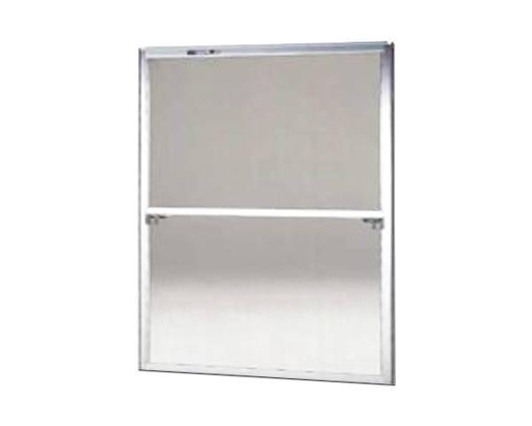 窓用サッシ網戸/フリーサイズ網戸【セイキ販売】60-92型 シルバーサイズ:H1780~1813ミリ×W1295~1315ミリ用