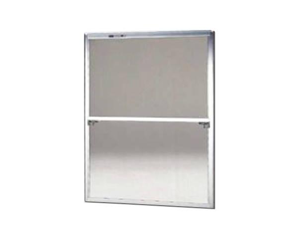 窓用サッシ網戸/フリーサイズ網戸【セイキ販売】61-92型 シルバーサイズ:H1810~1843ミリ×W1295~1315ミリ用