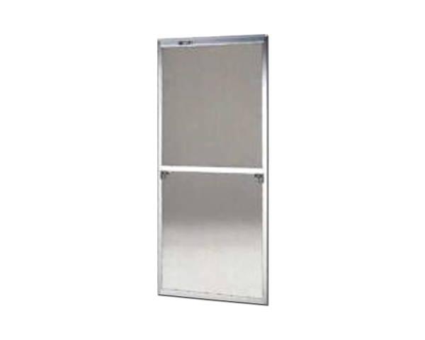 窓用サッシ網戸/フリーサイズ網戸【セイキ販売】61-94K型 シルバーサイズ:H1810~1843ミリ×W715~735ミリ用