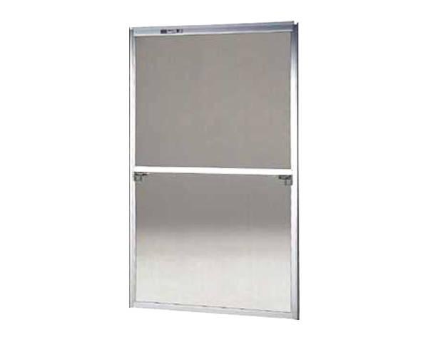 窓用サッシ網戸/フリーサイズ網戸【セイキ販売】58-60K型 シルバーサイズ:H1720~1753ミリ×W955~975ミリ用