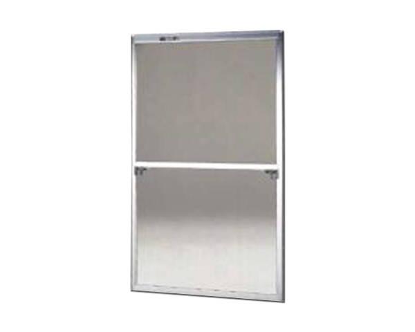 窓用サッシ網戸/フリーサイズ網戸【セイキ販売】59-60K型 シルバーサイズ:H1750~1783ミリ×W955~975ミリ用