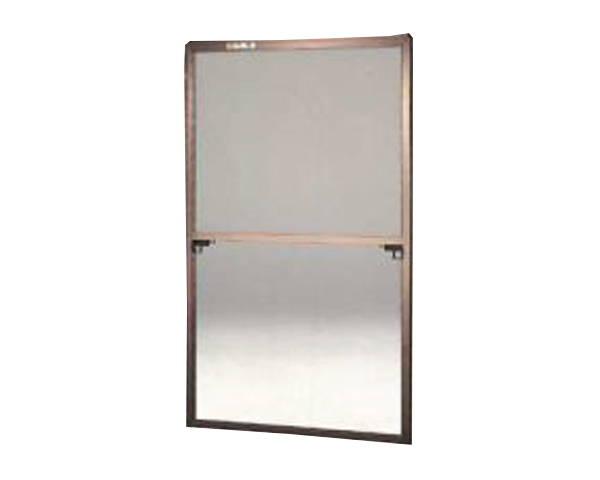 窓用サッシ網戸/フリーサイズ網戸【セイキ販売】59-60K型 ブロンズサイズ:H1750~1783ミリ×W955~975ミリ用
