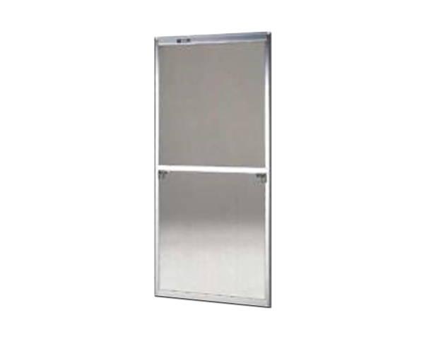 窓用サッシ網戸/フリーサイズ網戸【セイキ販売】57-94S型 シルバーサイズ:H1690~1723ミリ×W690~710ミリ用