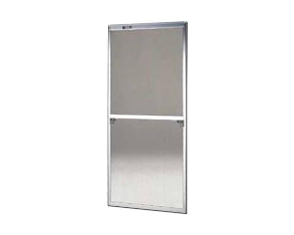 窓用サッシ網戸/フリーサイズ網戸【セイキ販売】58-94S型 シルバーサイズ:H1720~1753ミリ×W690~710ミリ用