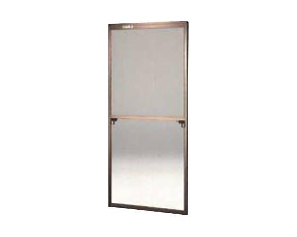 窓用サッシ網戸/フリーサイズ網戸【セイキ販売】58-94S型 ブロンズサイズ:H1720~1753ミリ×W690~710ミリ用