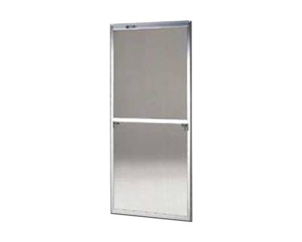 窓用サッシ網戸/フリーサイズ網戸【セイキ販売】59-94S型 シルバーサイズ:H1750~1783ミリ×W690~710ミリ用