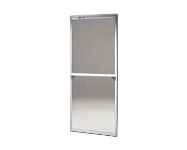 窓用サッシ網戸/フリーサイズ網戸【セイキ販売】61-94S型 シルバーサイズ:H1810~1843ミリ×W690~710ミリ用
