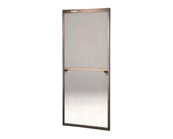 窓用サッシ網戸/フリーサイズ網戸【セイキ販売】61-94S型 ブロンズサイズ:H1810~1843ミリ×W690~710ミリ用
