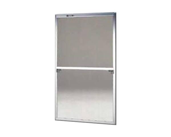 窓用サッシ網戸/フリーサイズ網戸【セイキ販売】57-60S型 シルバーサイズ:H1690~1723ミリ×W895~915ミリ用