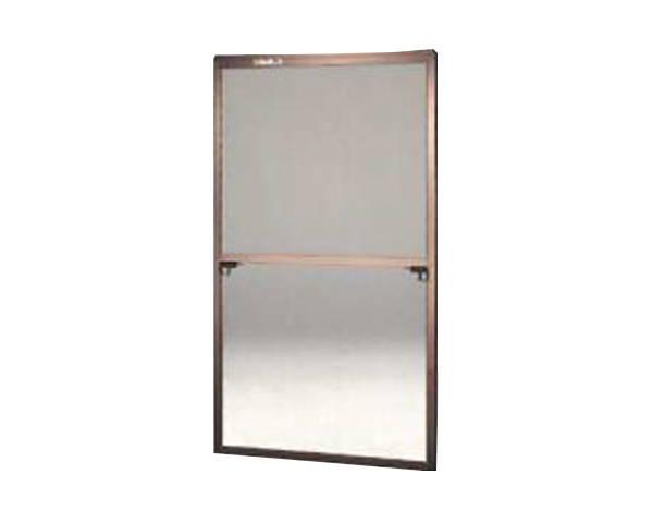 窓用サッシ網戸/フリーサイズ網戸【セイキ販売】57-60S型 ブロンズサイズ:H1690~1723ミリ×W895~915ミリ用