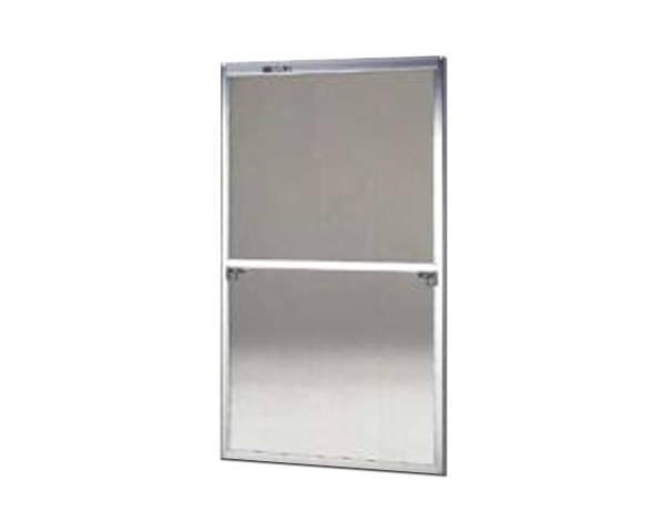 窓用サッシ網戸/フリーサイズ網戸【セイキ販売】58-60S型 シルバーサイズ:H1720~1753ミリ×W895~915ミリ用