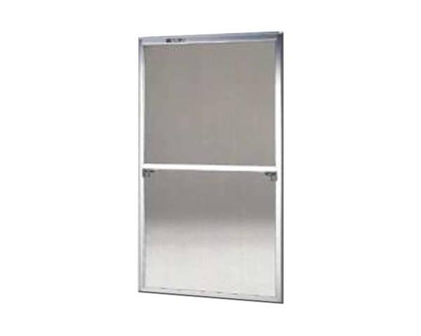窓用サッシ網戸/フリーサイズ網戸【セイキ販売】59-60S型 シルバーサイズ:H1750~1783ミリ×W895~915ミリ用