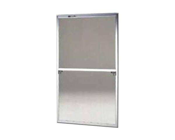 窓用サッシ網戸/フリーサイズ網戸【セイキ販売】59-120S型 シルバーサイズ:H1750~1783ミリ×W925~945ミリ用