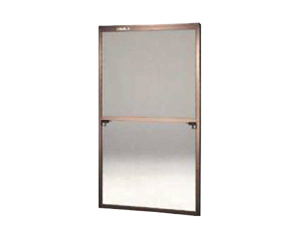 窓用サッシ網戸/フリーサイズ網戸【セイキ販売】59-120S型 ブロンズサイズ:H1750~1783ミリ×W925~945ミリ用