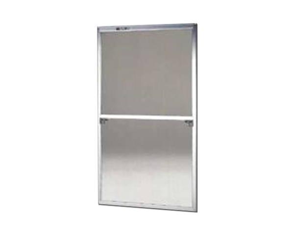窓用サッシ網戸/フリーサイズ網戸【セイキ販売】61-120S型 シルバーサイズ:H1810~1843ミリ×W925~945ミリ用